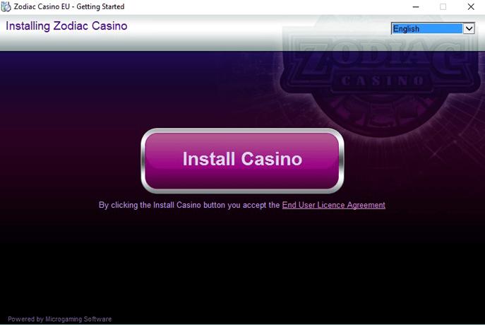 zodiac casino software download