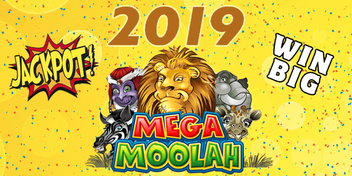 Mega Moolah jackpots in the year 2019