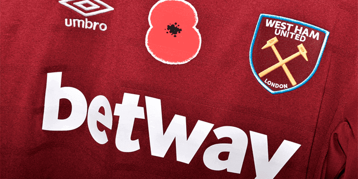 Betway renews shirt sponsorship deal with West Ham United