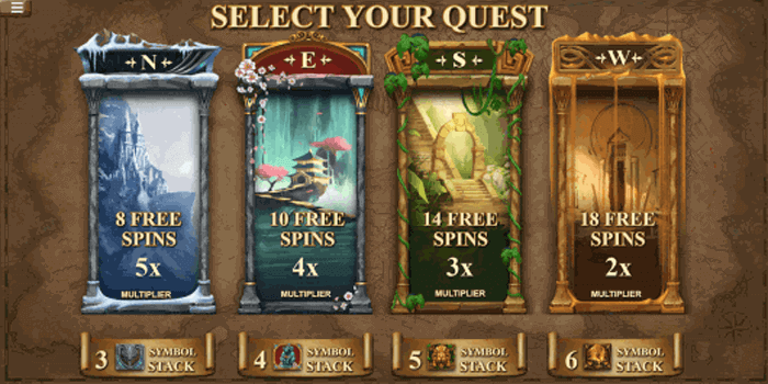 Casino Rewards Treasure Quest slot offers 243 Ways to Win and a big jackpot