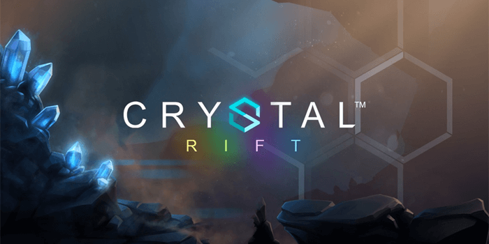 Crystal Rift slot by Rabcat for Microgaming