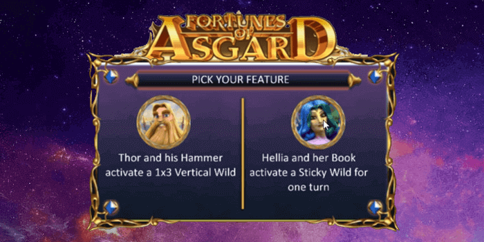 Fortune of Asgard is a 20-line medium variance slot with a Norse Mythology theme