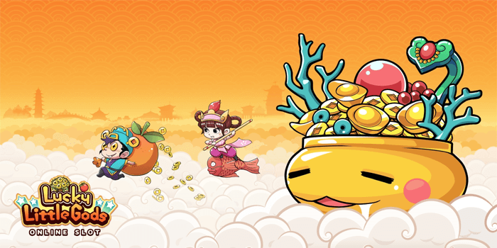 See if the Gods of Fortune are on your side in this Chinese New Year themed slot featuring two Lucky Little Gods