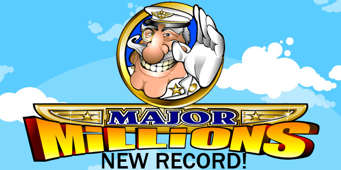 Major MIllions jackpot slot breaks new record