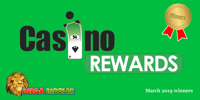 Casino Rewards big wins of March 2019