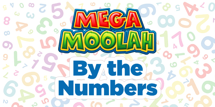 Mega Moolah by the numbers