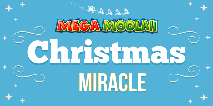 Mega Moolah can deliver a Christmas miracle