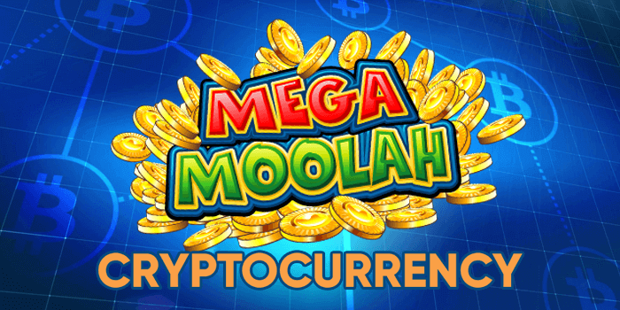 Playing Mega Moolah with cryptocurrency