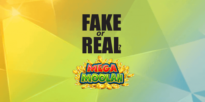 Is Mega Moolah fake or real and legitimate? This is the question we answer.