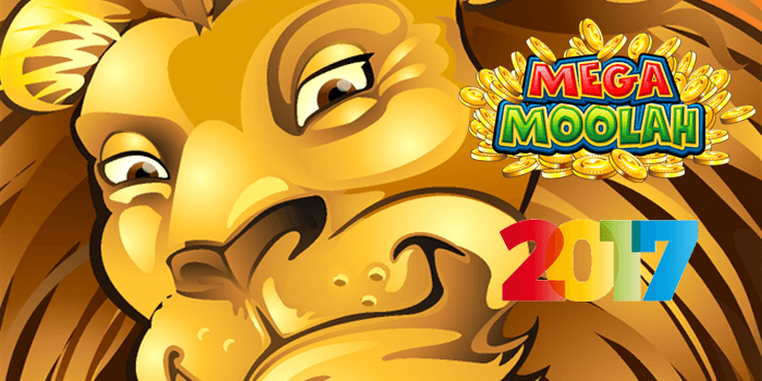 Mega Moolah jackpots in the year 2017