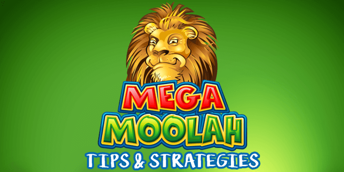 Tips and strategies to play Mega Moolah and try to win the jackpot