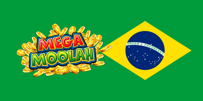 Playing Mega Moolah from Brazil
