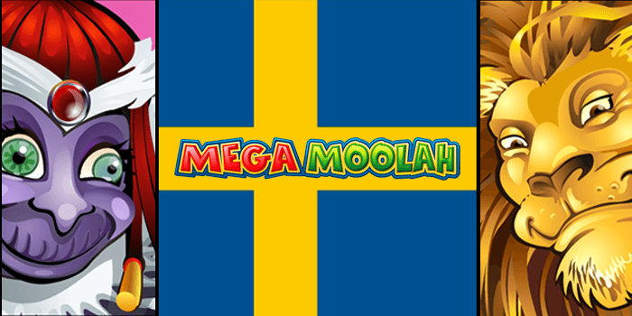Play Mega Moolah using bitcoin from Sweden