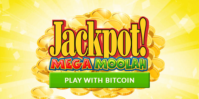 Big bitcoin jackpot is now available on Mega Moolah