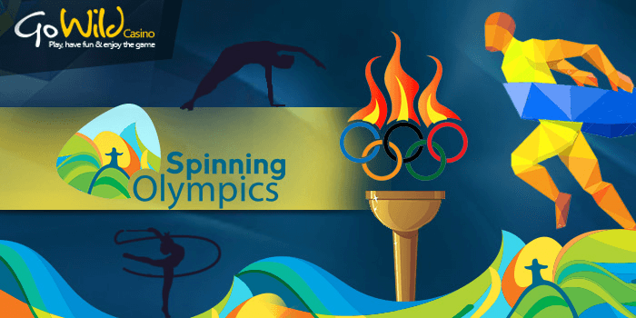 Spinning Olympics casino promotion