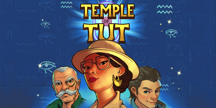 Just For The Win's new slot Temple of Tut was developed for Microgaming